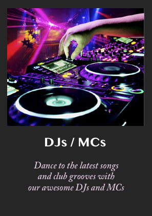 Hire a dynamic and professional DJ, MC and party motivator for your special event