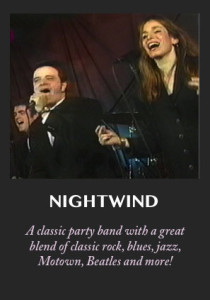 Nighwind - an elegant, fun band for your wedding or special event