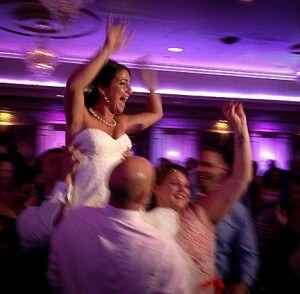 8-2-13 Wedding, dance floor shots, joyous bride!