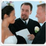 Wedding officiant, Rev. John Graf