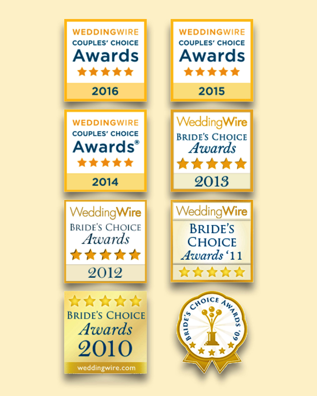 Best Of Weddings, Couples Choice Award 2017